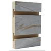 Slatwall Panel - 4' x 8' - Grey and Gold Mix