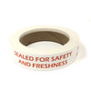 "Tamper Proof ""Sealed for Safety and Freshness"" Labels for Food Takeout"