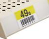 "24"" Adhesive Ticket Channel Gondola-Wood Shelf Label Holder"