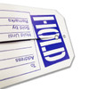 "1000 Large ""HOLD"" Tags - Blue & White - 2.375"" W x 4.75"" H"
