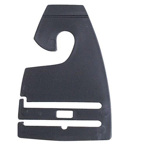 Black Neck Tie Hooks for Retail