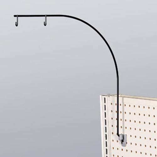 Black Gondola Aisle Sign Holders / Aisle Violator Sign Holder