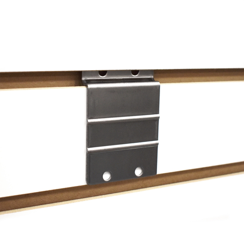 Metal Slatwall Adapter - Makes Items Slatwall Compatible