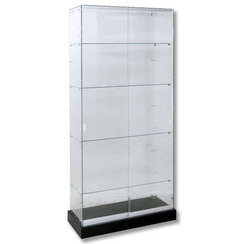 Frameless Economy Tempered Glass Wall Case