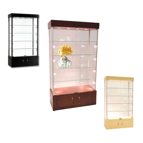 Assembled Wall Glass Showcase