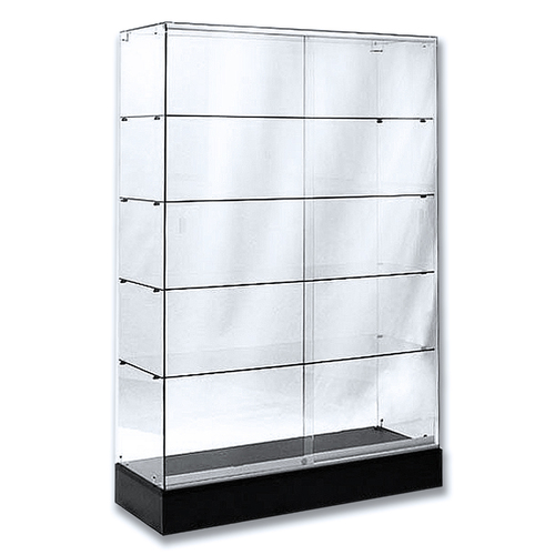 Frameless Economy Glass Wall Case