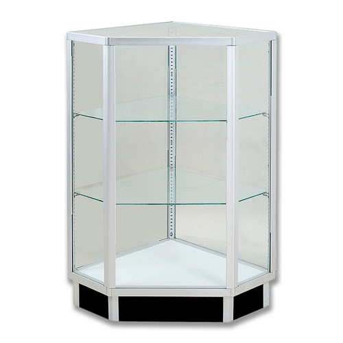 Economy Extra Vision Corner Filler Glass Showcase