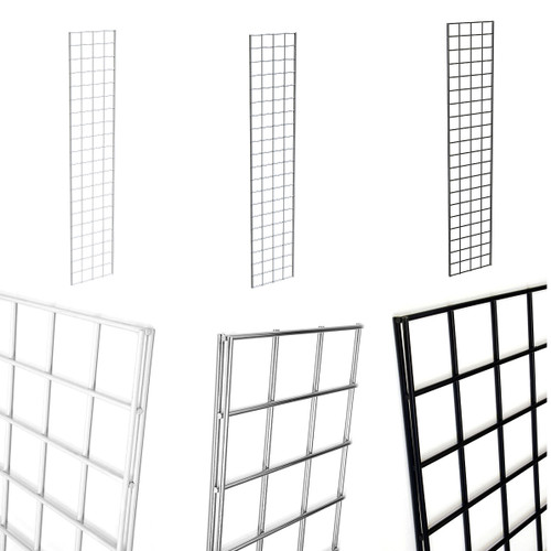 Grid Panels Available in Black, Chrome and White