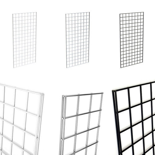 Gridwall Panel  2' x 4' - Three Pack