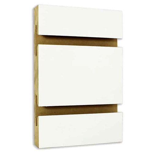 Slatwall Panel 4' x 8' - White