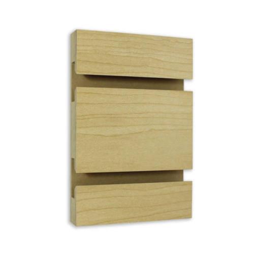Slatwall Panel - 4' x 8' - Hard Rock Maple
