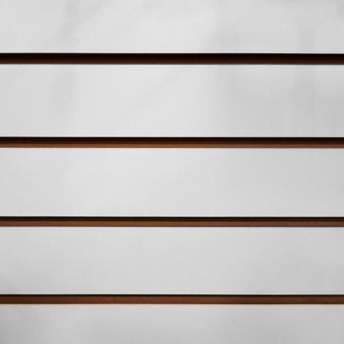 Slatwall Panel 4' x 8' - Light Grey