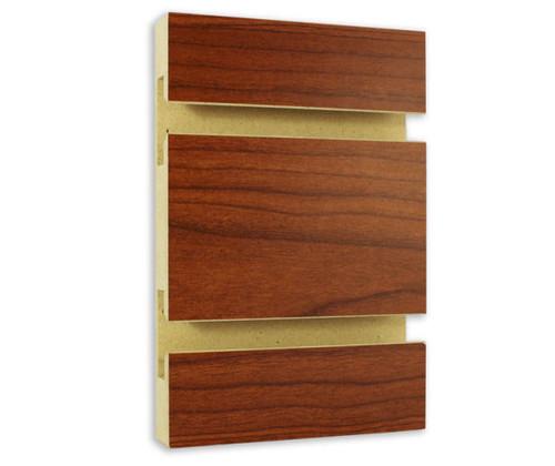 Slatwall Panel - 4' x 8' - Cherry Bouquet