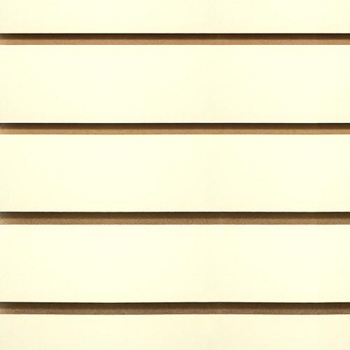 Slatwall Panel 4' x 8' - Almond