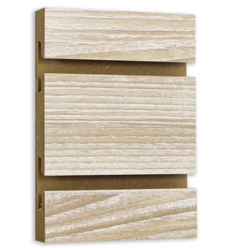 Slatwall Panel - 4' x 8' - Ash Barnwood