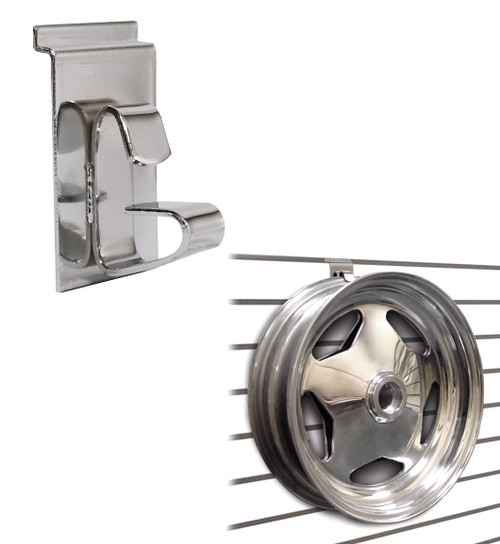 Slatwall Wheel & Rim Holder