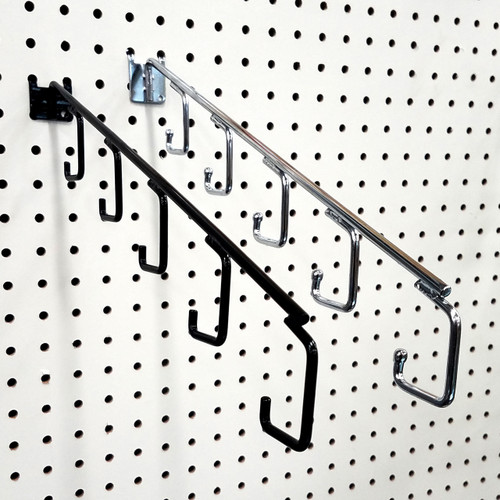 Pegboard 5 Hook Waterfall Faceout Hook