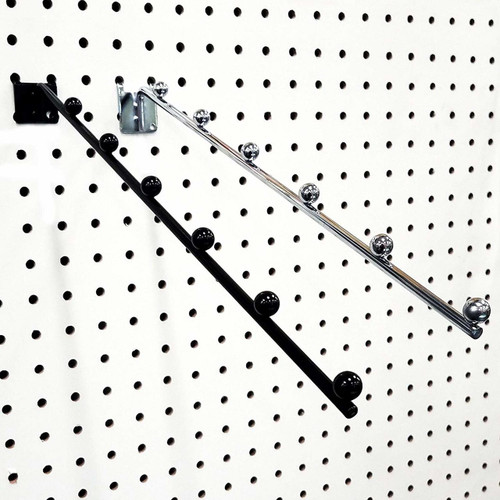 Pegboard 6 Ball Waterfall Faceout Hook