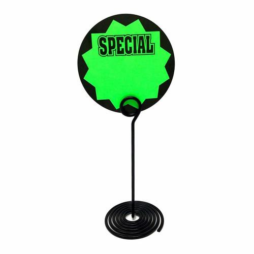 Spiral Base Sign Holder