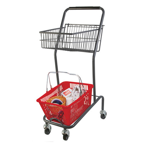 Mini Shopping Cart With Basket
