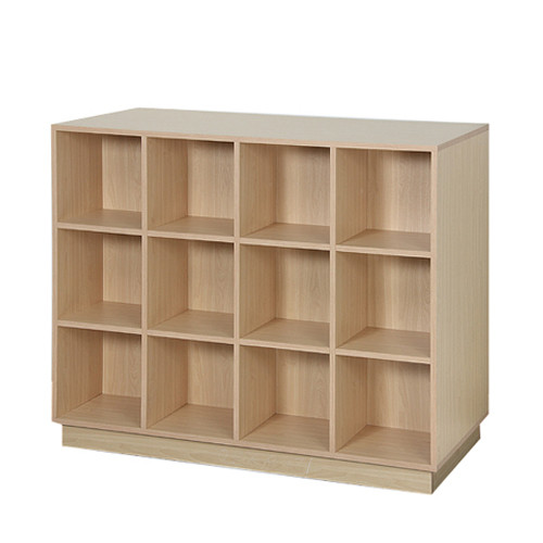 Wood Double Sided 24 Cube Display