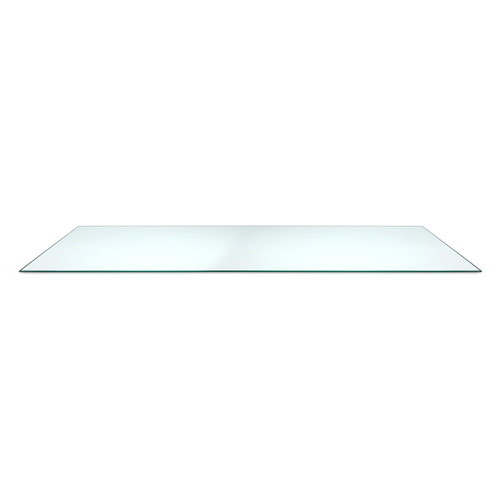 "Tempered Glass Shelf, 14"" D x 48"" L"