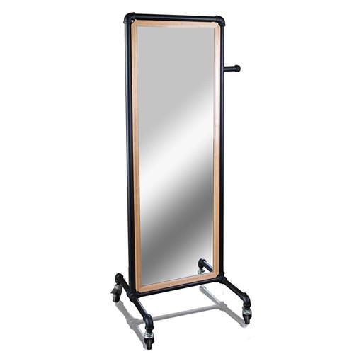 Pipe Line Floor Mirror Unit
