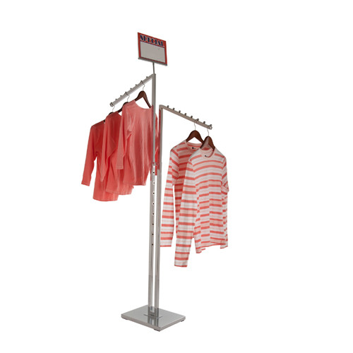 Adjustable 2-Way Waterfall Clothing Rack