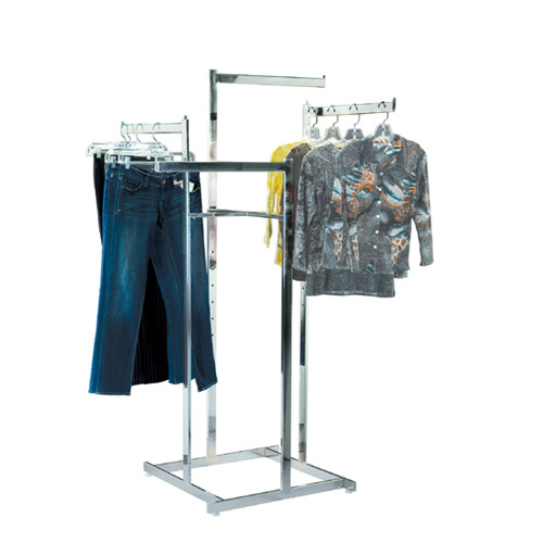 Heavy Duty 4 Way Clothing Rack