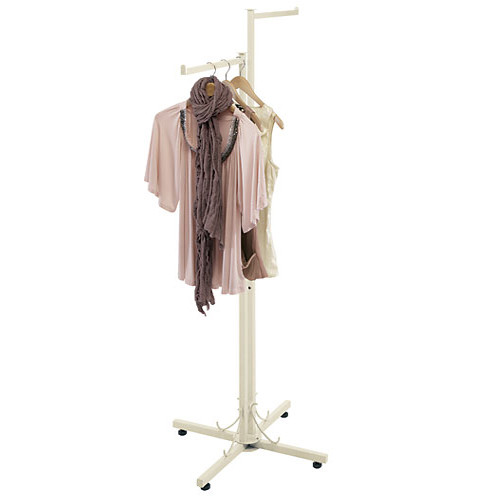 Elegant Pearl 2 Way Clothing Rack