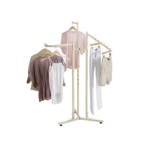 Elegant Pearl 3 Way Clothing Rack