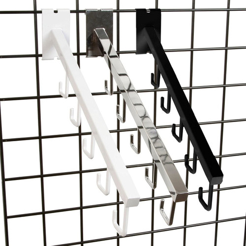 "18"" L Gridwall 5 J Hook Waterfall"