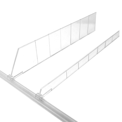 Universal Shelf Lip & Adjustable Depth Divider Kit