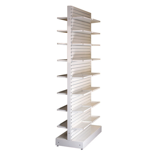 Rx Metal Slatwall Double Sided Unit
