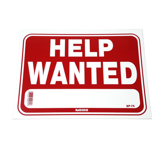 Help Wanted Business Sign