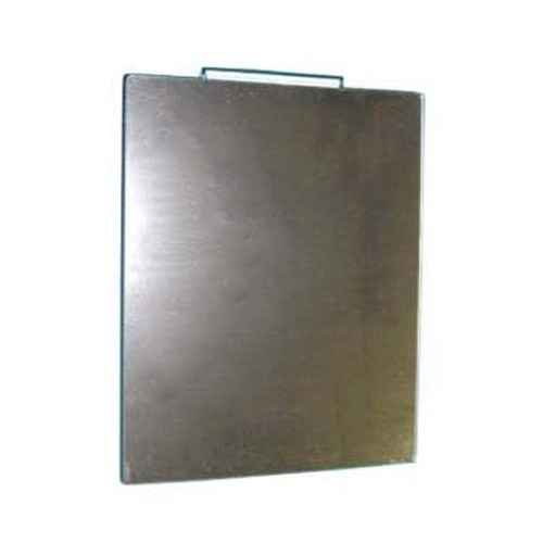 Slatwall Acrylic Mirror with Smooth Rounded Corners