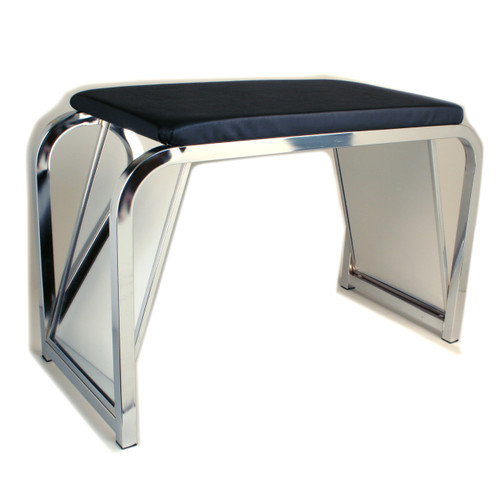 Shoe Fitting Stool With Mirrors