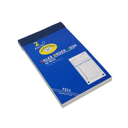 Carbonless Sales Order Book
