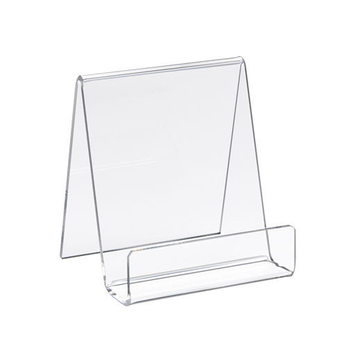 Clear Acrylic Countertop Display Easel