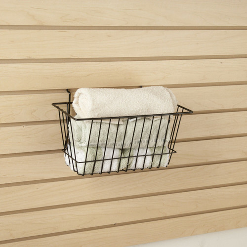 Narrow Retail Wire Baskets, 6 Pack