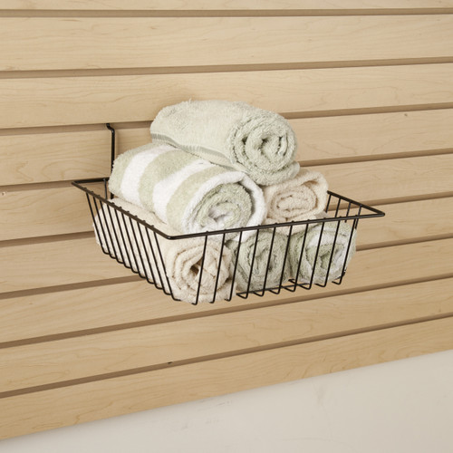 "12"" Shallow Retail Wire Baskets, 6 Pack"