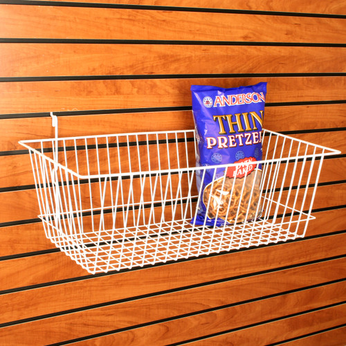 Large Retail Wire Baskets, 6 Pack