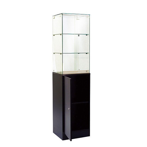 Economy Tower Display Case with Storage