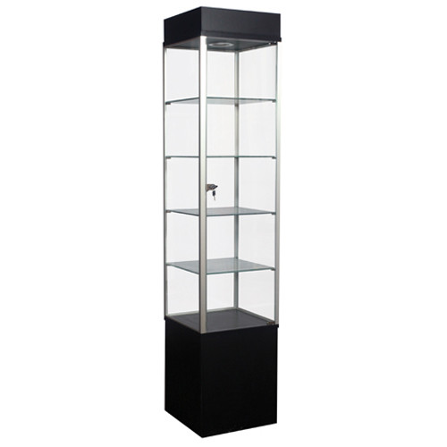 Economy Tower Display Case Square