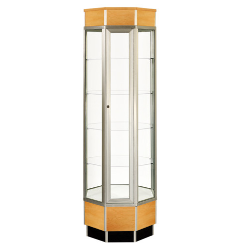 Octagon Tower Display Case