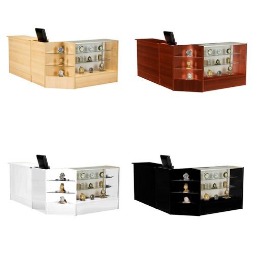 Glass Showcase, Register & Counter Bundle Pack