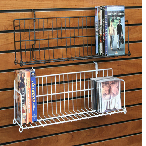 Retail DVD, CD, Book & Video Game Display Shelf