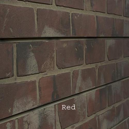 3D Slatwall Panel 2' x 8' - Brick