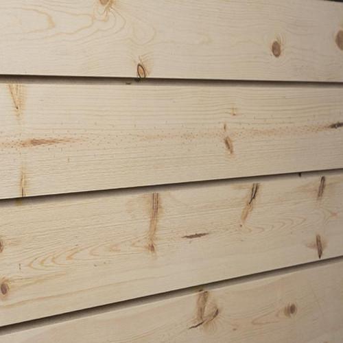 3D Slatwall Panel 4' x 8' -  Natural Spruce