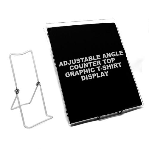 Adjustable Angle Countertop T-Shirt Display